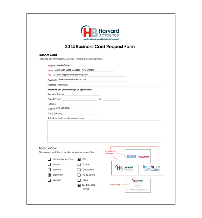 Business Cards - BROOK GRFFIN | Art Director & Designer