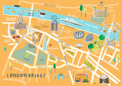 Team london bridge livi gosling illustration for Design agency london bridge